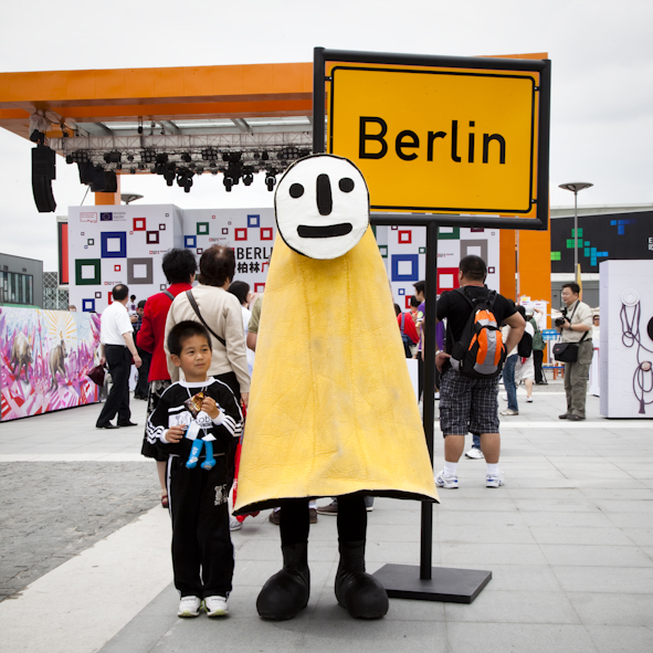 BERLIN SQUARE, EXPO, Schanghai, China
