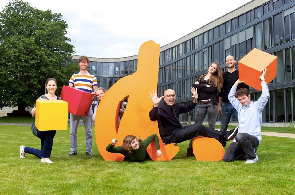 d.confestival, Prof. Ulrich Weinberg and students of the HPI School of Design Thinking