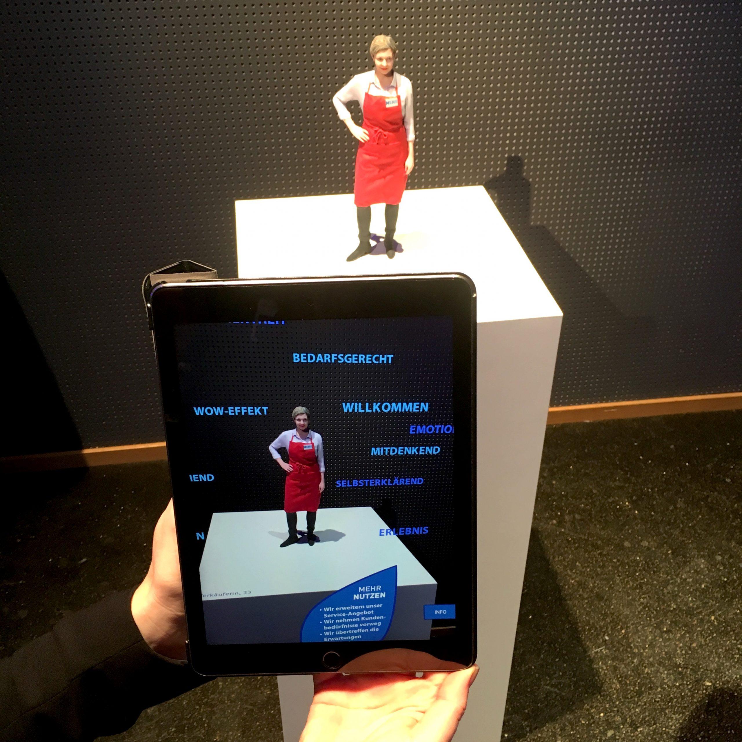 Signal Iduna, Augmented Reality Station